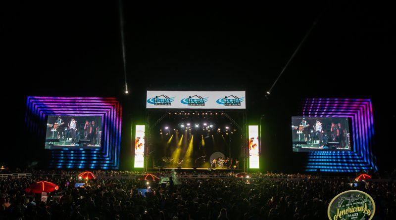 Véspera de feriado com shows na Festa de Americana